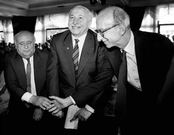 Erdal İnönü, Süleyman Demirel, Necmettin Erbakan