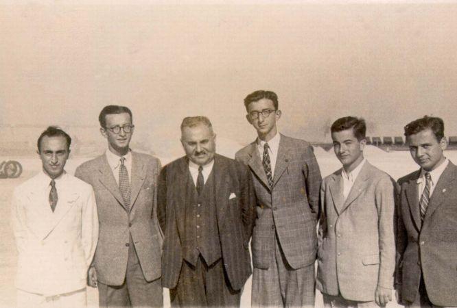 Galip Demirağ, Ömer İnönü, Nuri Demirağ, Erdal İnönü, Mehmet Kum