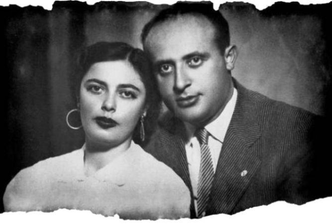 Süleyman Demirel Ve Nazmiye Demirel Nikah Fotoğrafı