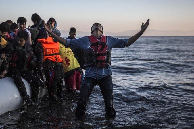 Denizde Yakalanan Mülteciler