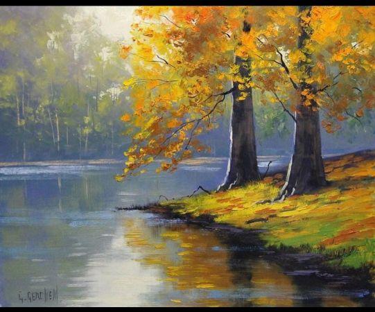 Graham Gercken, Autumn Lake