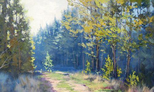 Graham Gerckhen, Sunny Corner Pine Forest (1)