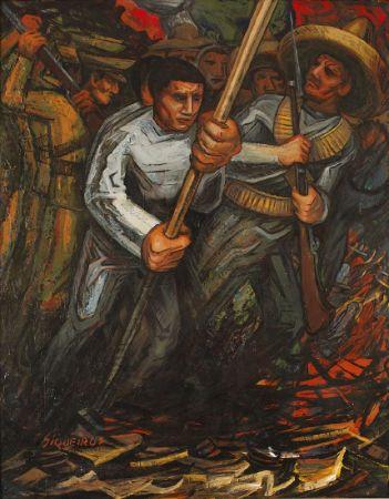 David Alfaro Siqueiros, La represion de la Revolucion