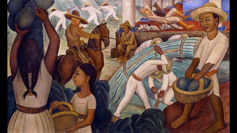 Diego Rivera, Sugar Cane,