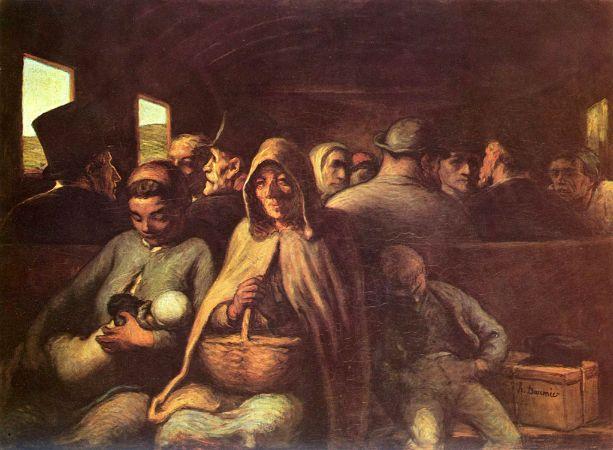 Honoré Daumier, Le Wagon de Troisième Classe