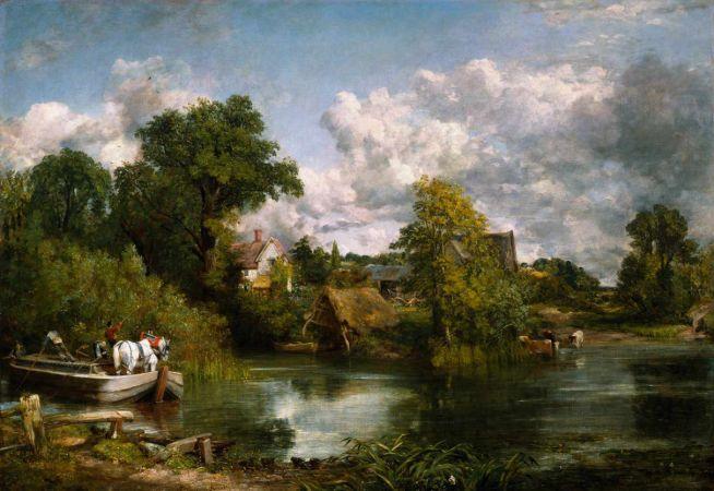 John Constable, The Whıte Horse