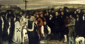 Ornans'ta Cenaze (1)