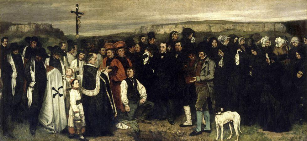 Ornans'ta Cenaze