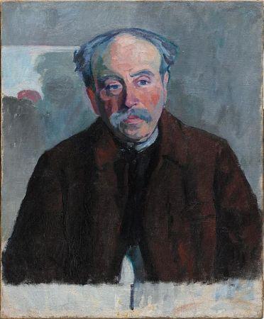 Robert Delunay, Portrait du Douanier Rousseau,