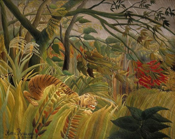 Tiger in a Tropical Storm (Surprised),